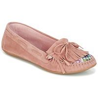 Sapatos Mulher Mocassins Ippon Vintage MOC-WAX-ROSE Rosa