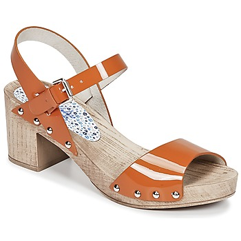 Sapatos Mulher Sandálias Ippon Vintage SOK COLORS Laranja