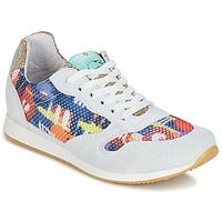 Sapatos Mulher Sapatilhas Ippon Vintage RUN-SEVENTY Branco / Multicolor / Ouro
