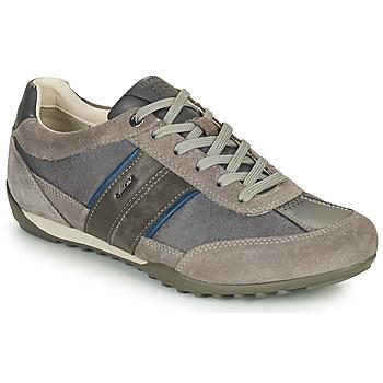 Sapatos Homem Sapatilhas Geox U WELLS C Cinza