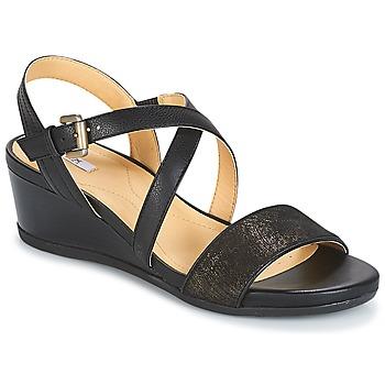Sapatos Mulher Sandálias Geox MARYKARMEN A Preto