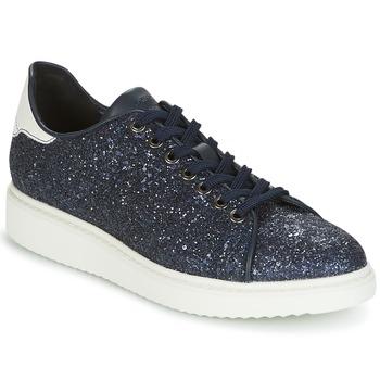Sapatos Mulher Sapatilhas Geox D THYMAR C Azul / Branco