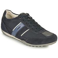 Sapatos Homem Sapatilhas Geox U WELLS C Azul