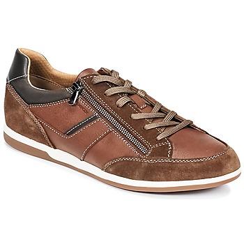 Sapatos Homem Sapatilhas Geox U RENAN C Castanho