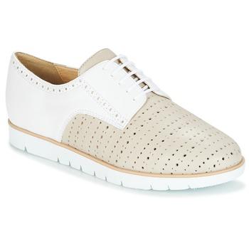 Sapatos Mulher Sapatos Geox KOOKEAN Toupeira / Branco