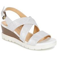 Sapatos Mulher Sandálias Geox MARYKARMEN P.B Branco