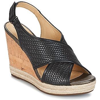 Sapatos Mulher Sandálias Geox JANIRA C Preto