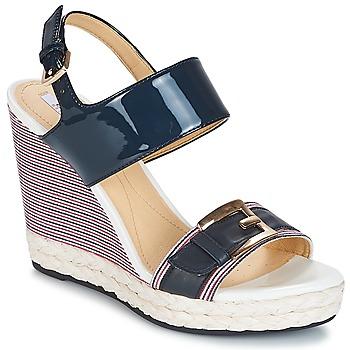 Sapatos Mulher Sandálias Geox JANIRA E Marinho
