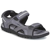 Sapatos Homem Sandálias Geox S.STRADA D Cinza