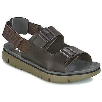 Sapatos Homem Sandálias Camper ORUGA SANDAL Castanho