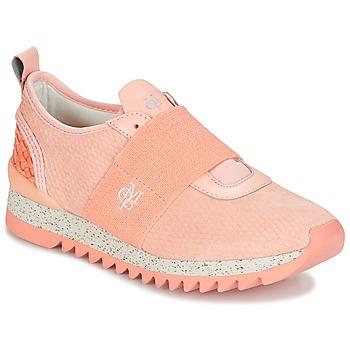 Sapatos Mulher Sapatilhas Marc O'Polo GARIS Rosa / Bege