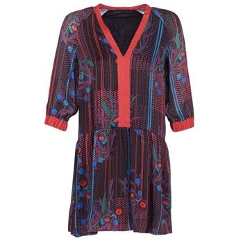 Textil Mulher Vestidos curtos Sisley CEPAME Preto / Vermelho / Azul