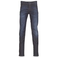Textil Homem Calças de ganga slim Sisley FLAGADU Azul / Escuro