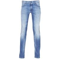 Textil Homem Calças de ganga slim Sisley BURLUDU Azul