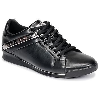 Sapatos Homem Sapatilhas Guess NEW GEORG Preto
