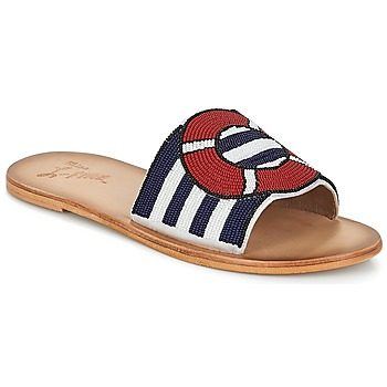 Sapatos Mulher Chinelos Miss L'Fire ALL ABOARD Marinho
