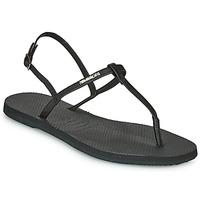 Sapatos Mulher Sandálias Havaianas YOU RIVIERA Preto