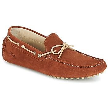 Sapatos Homem Mocassins Kost TAPALO Camel