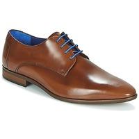 Sapatos Homem Sapatos Azzaro VALMI Conhaque