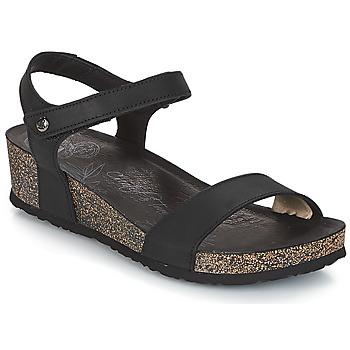 Sapatos Mulher Sandálias Panama Jack CAPRI Preto