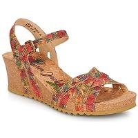 Sapatos Mulher Sandálias Panama Jack VERA Vermelho