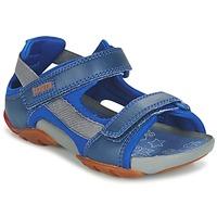 Sapatos Rapaz Sandálias Camper OUS Azul