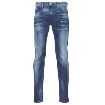 Textil Homem Calças de ganga slim Diesel THOMMER Azul