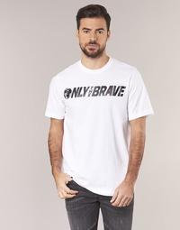 Textil Homem T-Shirt mangas curtas Diesel T JUST SV Branco