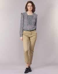 Textil Mulher Chinos Scotch & Soda BEIBEO Bege