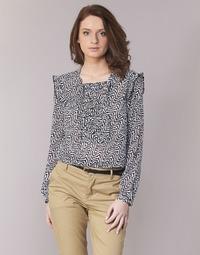 Textil Mulher Tops / Blusas Scotch & Soda OLZAKD Preto / Branco