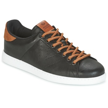Sapatos Homem Sapatilhas Victoria DEPORTIVO PU CONTRASTE Preto