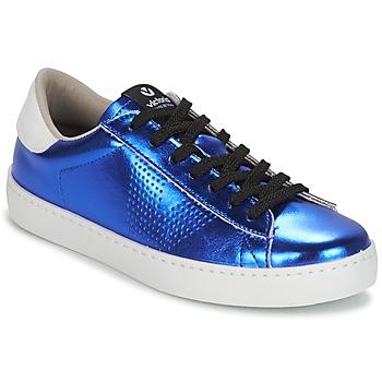 Sapatos Mulher Sapatilhas Victoria DEPORTIVO METALIZADO Azul