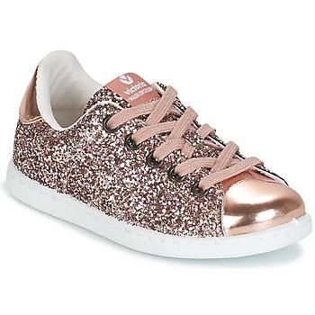 Sapatos Rapariga Sapatilhas Victoria DEPORTIVO GLITTER KID Rosa