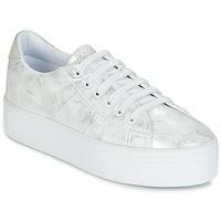 Sapatos Mulher Sapatilhas No Name PLATO SNEAKER Prata