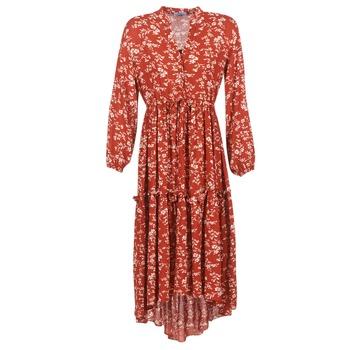 Textil Mulher Vestidos compridos Betty London HALETTE Vermelho