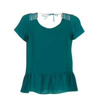 Textil Mulher Tops / Blusas Betty London INOTTE Verde