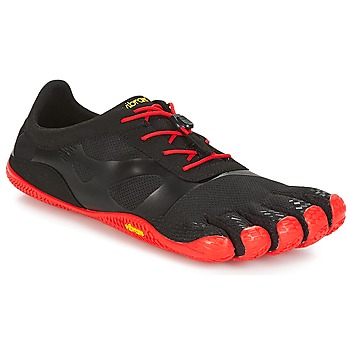 Sapatos Homem Sapatilhas de corrida Vibram Fivefingers KSO EVO Preto / Vermelho