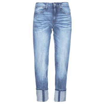 Textil Mulher Gangas ¾ & 7/8 G-Star Raw LANC 3D HIGH STRAIGHT Azul