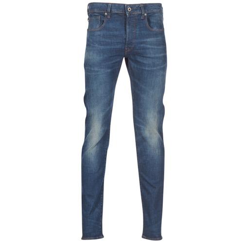 Textil Homem Calças de ganga slim G-Star Raw 3301 SLIM Azul