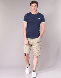 Textil Homem Shorts / Bermudas G-Star Raw ROVIC ZIP LOOSE 1/2 Bege