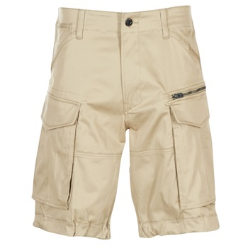 Textil Homem Shorts / Bermudas G-Star Raw ROVIC ZIP LOOSE 1/2 Bege