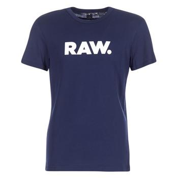 Textil Homem T-Shirt mangas curtas G-Star Raw HOLORN R T S/S Marinho
