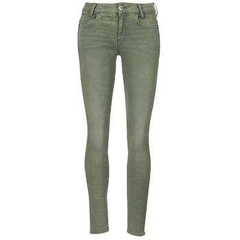 Textil Mulher Calças G-Star Raw D-STAQ 5-PKT MID SKINNY COJ WMN Verde