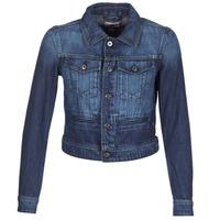 Textil Mulher casacos de ganga G-Star Raw D-STAQ S DC DNM JKT WMN Azul