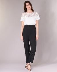 Textil Mulher Macacões/ Jardineiras Molly Bracken YURITOE Preto / Branco
