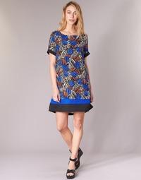 Textil Mulher Vestidos curtos Molly Bracken JUNCE Azul