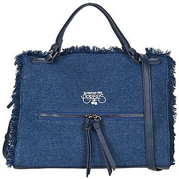 Malas Mulher Bolsa de mão Le Temps des Cerises EMILY 2 Azul