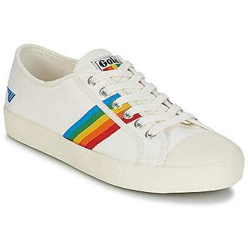Sapatos Mulher Sapatilhas Gola COASTER RAINBOW Branco