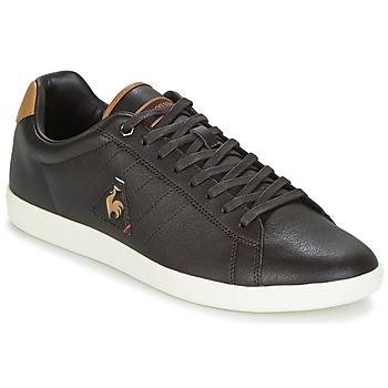 Sapatos Homem Sapatilhas Le Coq Sportif COURTCRAFT S LEA Preto