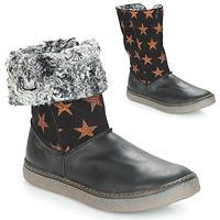 Sapatos Rapariga Botas Achile DUBROVNIK Preto / Cobre